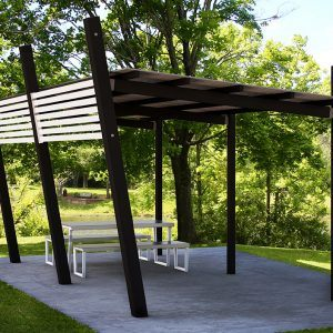 Designer Park Shelters