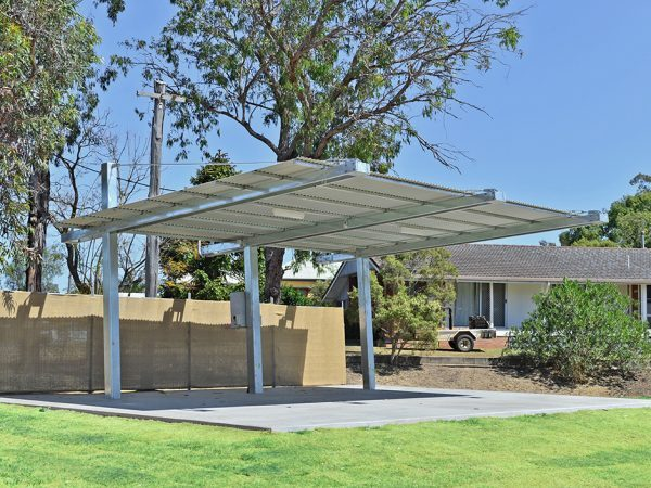 Cantilever Outdoor Shelters Commercial Shade Structures