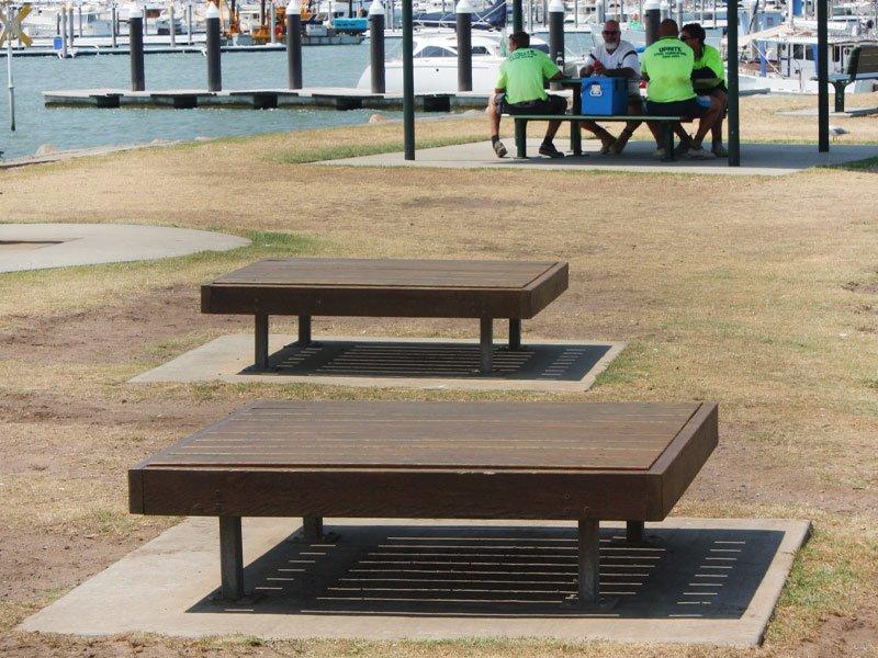 Tumut Platform Bench Landmark Products