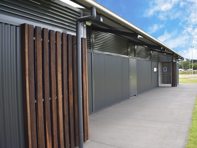 Exterior Finish of Female Friendly Sports Facilities